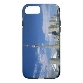 トロント、オンタリオのCNのタワーそしてSkydome、 iPhone 8/7ケース