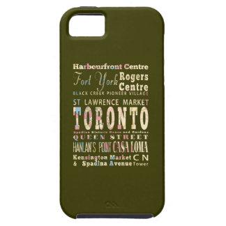トロント、カナダの魅力及び有名な場所 iPhone SE/5/5s ケース