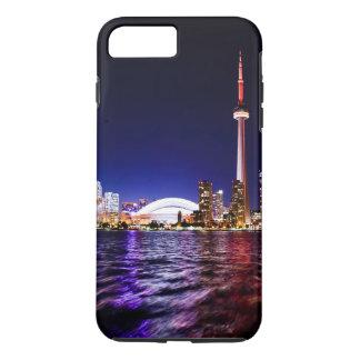 トロント、カナダ夜スカイライン iPhone 8 PLUS/7 PLUSケース