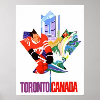トロント、カナダ旅行ポスター ポスター