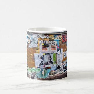 トロンヘイムポスターマグ コーヒーマグカップ