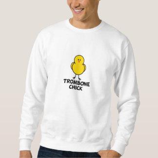 トロンボーンのひよこ スウェットシャツ