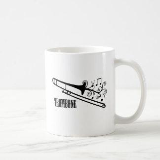 トロンボーンのベクトルデザイン コーヒーマグカップ
