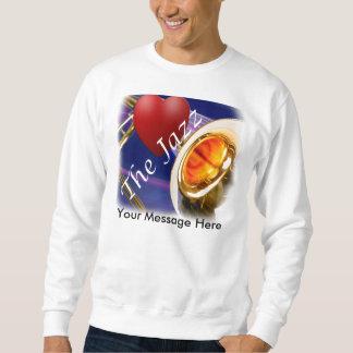 トロンボーンのミュージシャン愛ジャズワイシャツ、Tシャツ、Tシャツ スウェットシャツ