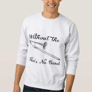 トロンボーンの人の基本的なスエットシャツ スウェットシャツ