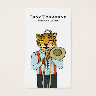 トロンボーンの先生の名刺 名刺