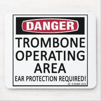 トロンボーンの操業区域 マウスパッド