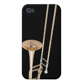 トロンボーンのiPhoneの場合 iPhone 4 Case