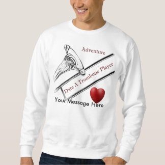 トロンボーンプレーヤーのミュージシャンのワイシャツ、Tシャツ スウェットシャツ