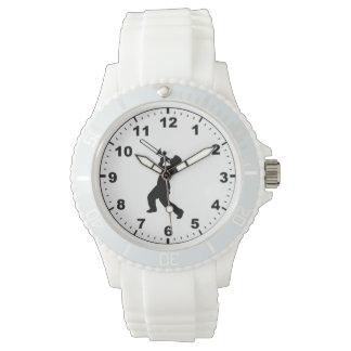 """""""トロンボーンプレーヤー""""のデザインの腕時計 腕時計"""