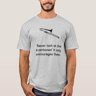 トロンボーンプレーヤー Tシャツ
