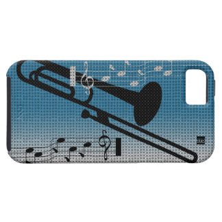 トロンボーン音楽iPhone 5の穹窖の箱 iPhone SE/5/5s ケース