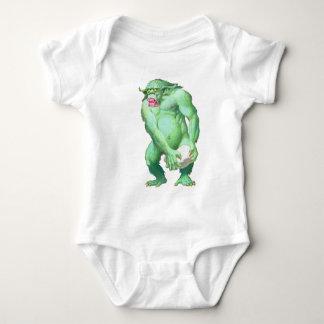 トロールの乳児 ベビーボディスーツ