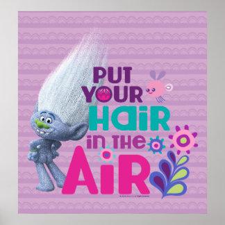 トロールは空気2に|あなたの毛を置きました ポスター