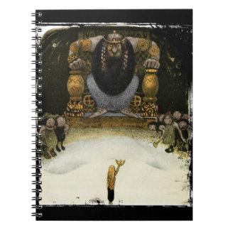 トロール王を持つプリンセス ノートブック