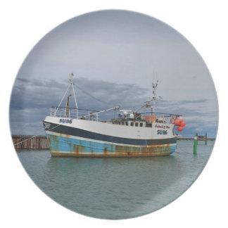 トロール船Galwad Y MOR プレート