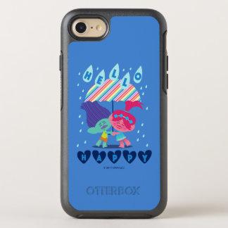 トロール|幸せな雨低下 オッターボックスシンメトリーiPhone 8/7 ケース
