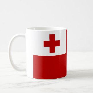 トンガのマグの旗 コーヒーマグカップ