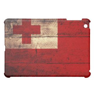 トンガの古い木の旗 iPad MINIカバー