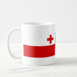トンガの国の長い旗の国家の記号 コーヒーマグカップ