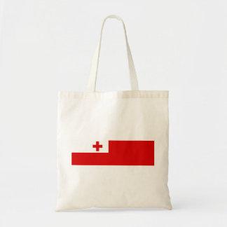 トンガの国の長い旗の国家の記号 トートバッグ