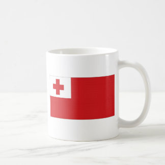 トンガの国旗 コーヒーマグカップ
