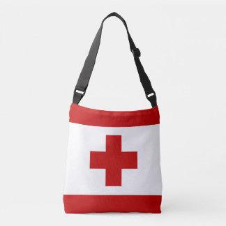 トンガの旗 クロスボディバッグ