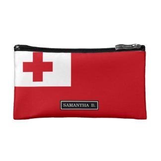 トンガの旗 コスメティックバッグ