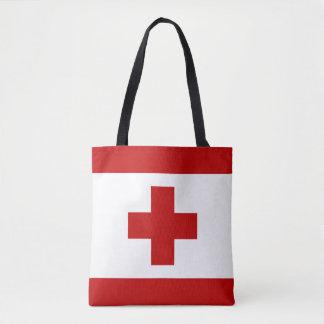 トンガの旗 トートバッグ