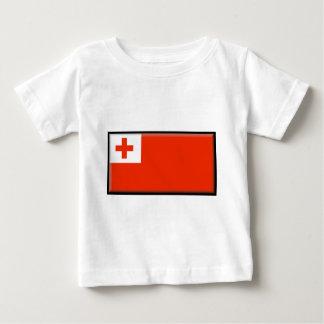 トンガの旗 ベビーTシャツ