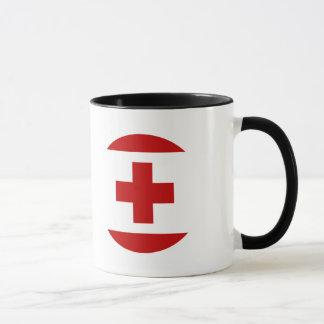 トンガの旗 マグカップ
