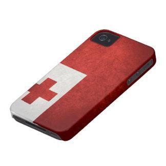 トンガの旗 Case-Mate iPhone 4 ケース