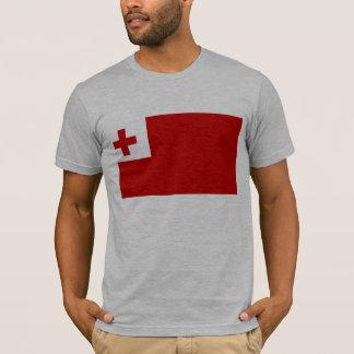 トンガの旗 Tシャツ
