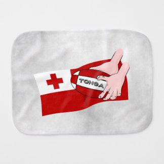 トンガ王国のラグビーの旗 バープクロス