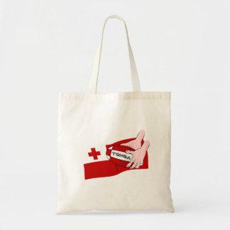 トンガ王国のTonganラグビーの旗 トートバッグ