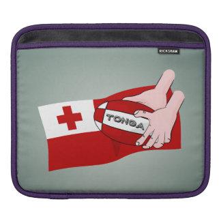 トンガ王国のTonganラグビーの旗 iPadスリーブ