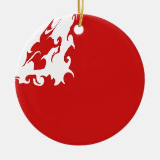 トンガ|すごい|旗 クリスマスツリーオーナメント