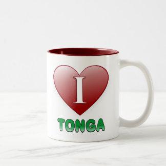 トンガ ツートーンマグカップ