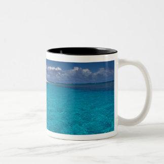 トンガ、Vava'uの景色 ツートーンマグカップ