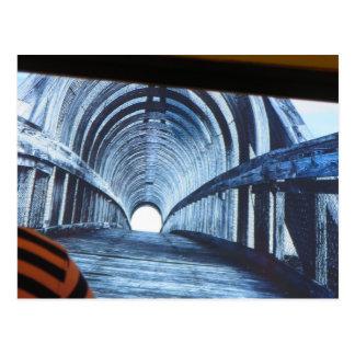 トンネルのボストン橋意見の終わりにつけて下さい ポストカード