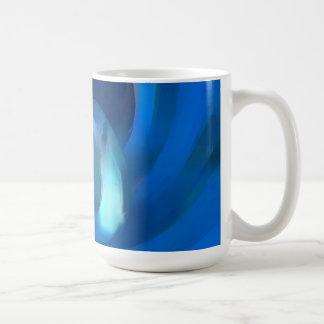 トンネルの渇望のパステルの抽象芸術 コーヒーマグカップ
