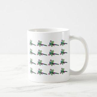 トンボのデザイン コーヒーマグカップ