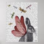 トンボのノウサギ ポスター