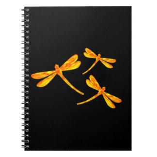 トンボのノート-火 ノートブック