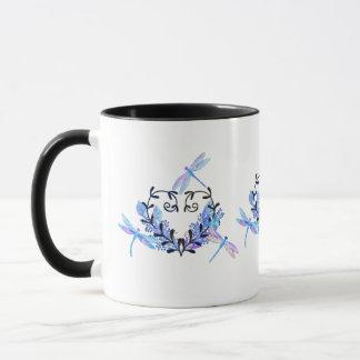 トンボの刺激を受けたなコーヒー・マグ マグカップ