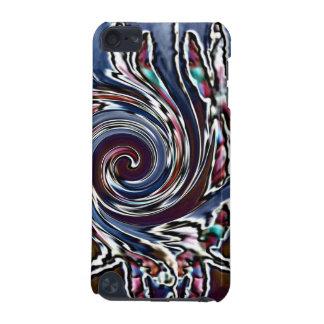 トンボの波の抽象芸術の自然 iPod TOUCH 5G ケース