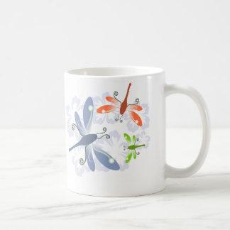 トンボの花 コーヒーマグカップ