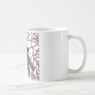 トンボの落書き コーヒーマグカップ