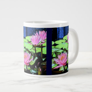 トンボの《植物》スイレン ジャンボコーヒーマグカップ
