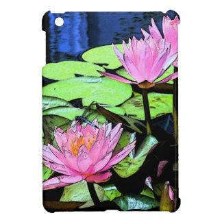 トンボの《植物》スイレン iPad MINI カバー